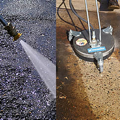 jet washer lance and floor cleaner attachments